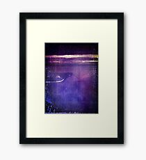 travel by monorail Framed Print