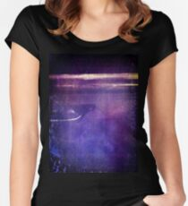 travel by monorail Fitted Scoop T-Shirt