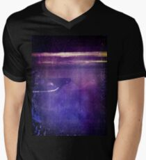 travel by monorail V-Neck T-Shirt