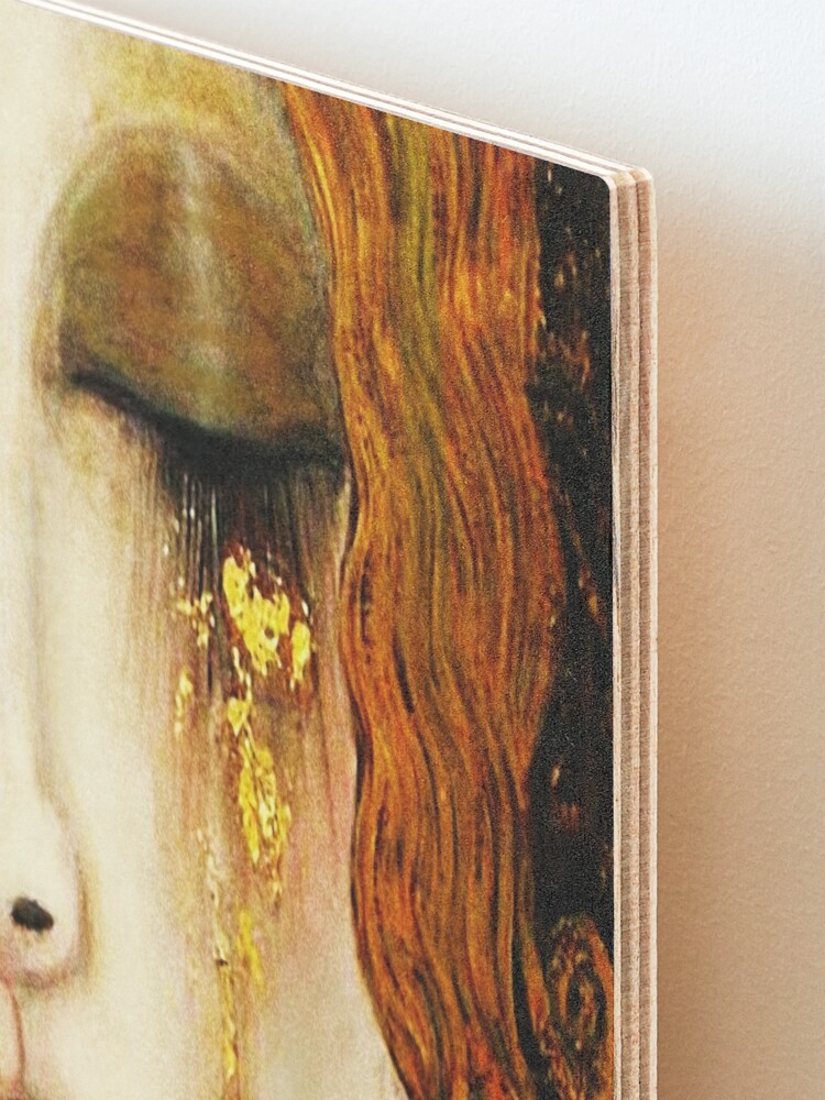 Alternate view of Klimt Golden Tears Mounted Print