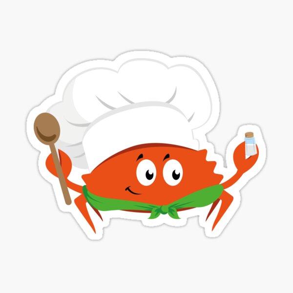 Ferris the Chef Sticker