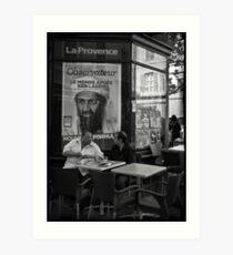"""""""Ben Laden"""" Art Print"""