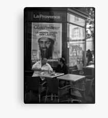 """""""Ben Laden"""" Metal Print"""