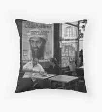 """""""Ben Laden"""" Throw Pillow"""