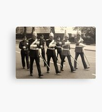 Marching in time Metal Print