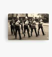 Marching in time Canvas Print