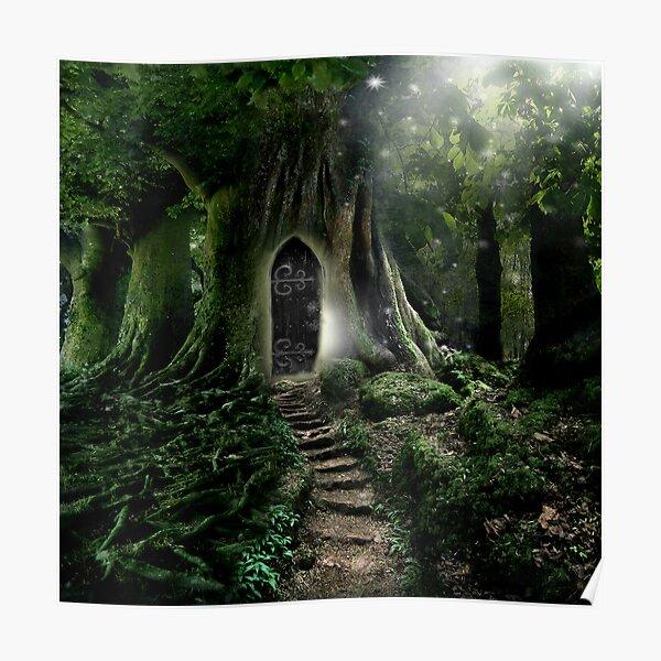 Doorway to Lothlorien Poster
