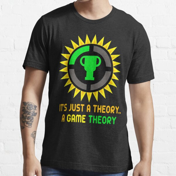 Theorist Official Slogan and Logo For Game Analysis - Christmas And Birthday Party Gift Ideas for Theories Lovers and Game Nerds Essential T-Shirt
