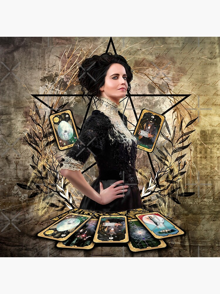 Vanessa Ives Tarot - Penny Dreadful by MIRIAMSMART