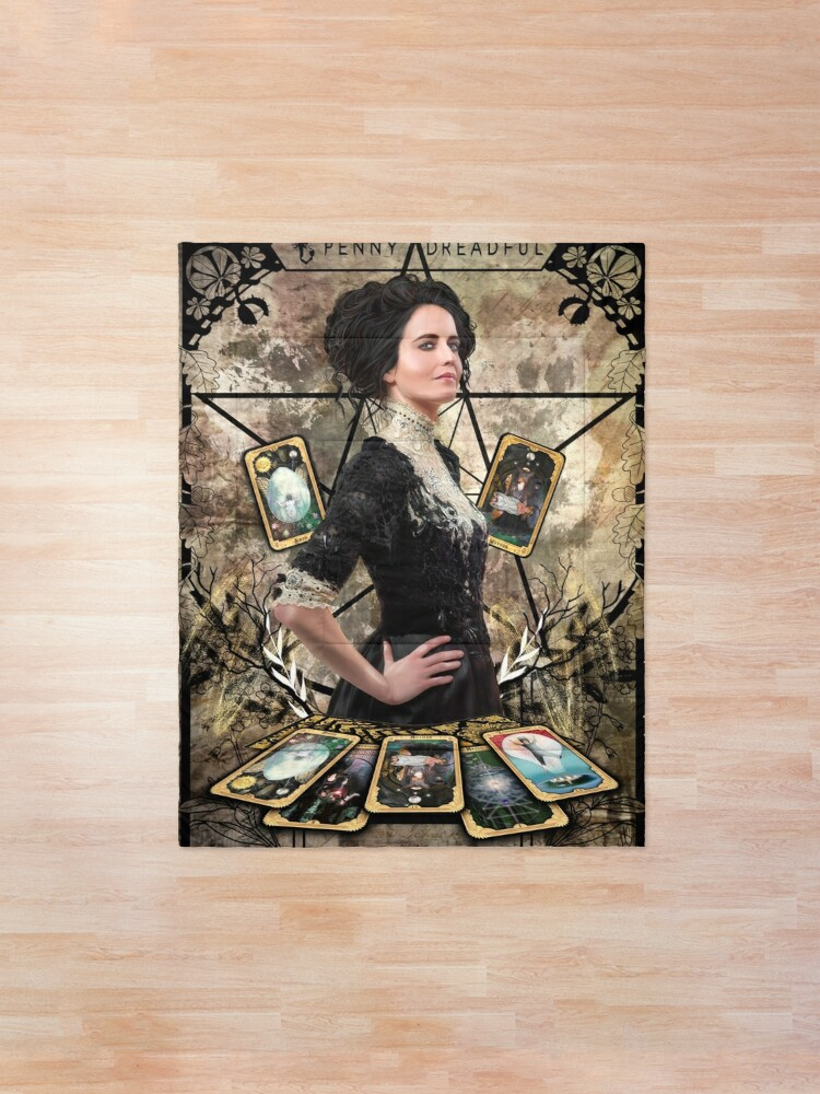 Alternate view of Vanessa Ives Tarot Edge - Penny Dreadful Comforter