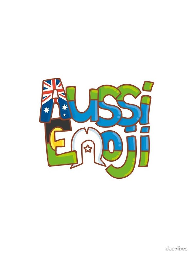 AussiEmoji Australia by dasvibes