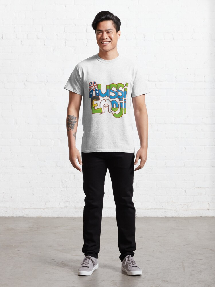 Alternate view of AussiEmoji Australia Classic T-Shirt