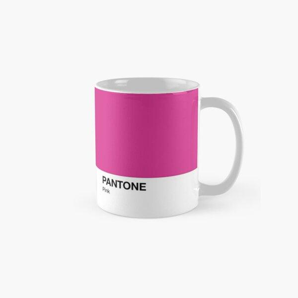 Taza Pantone Color Pink Taza clásica