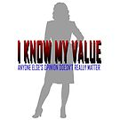 I KNOW MY VALUE by FleurDeLou