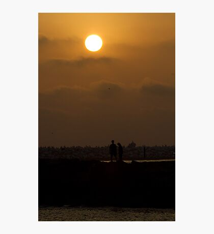 Lover's Sunset Photographic Print