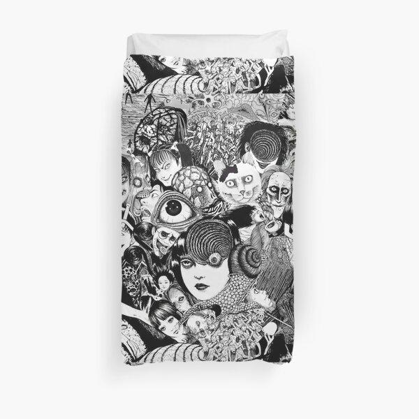 junji ito collage Duvet Cover