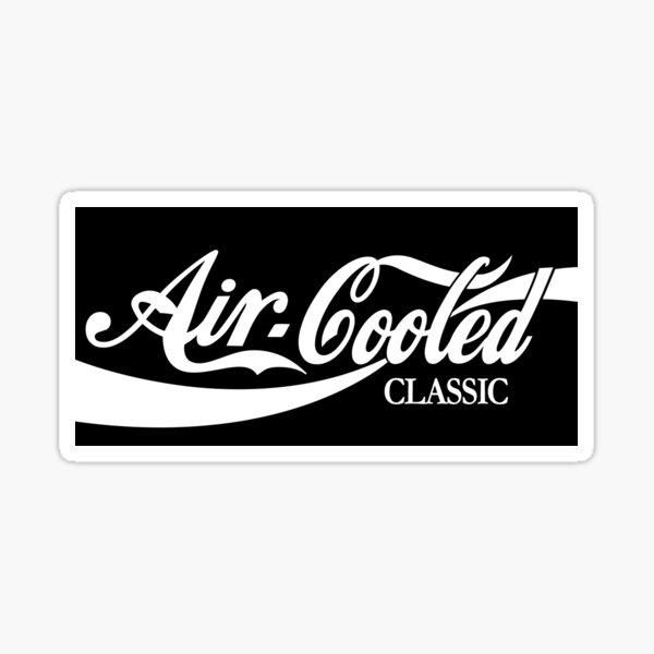 Autocollant Cola classique refroidi par air VW Sticker