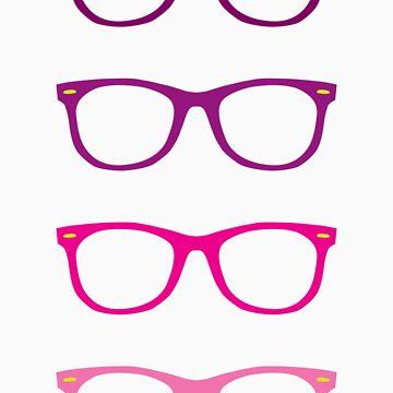 Pink Wayfarer by GoldMedia