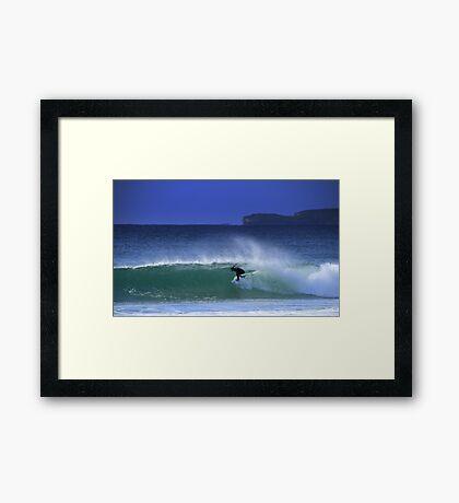Tyler Wright - Culburra Beach Framed Print