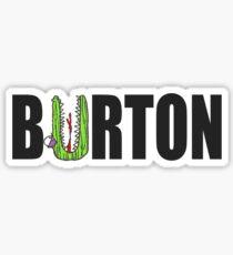 Tim Burton Poster 1 Sticker