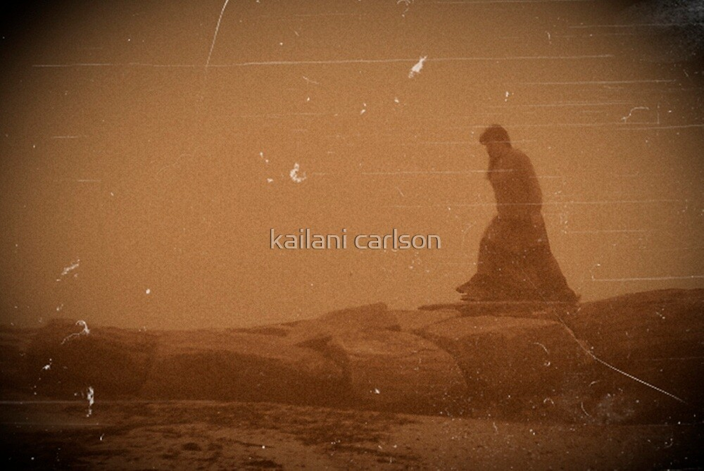 "Self Portrait, ""Running to the Edge of the World"" by kailani carlson"