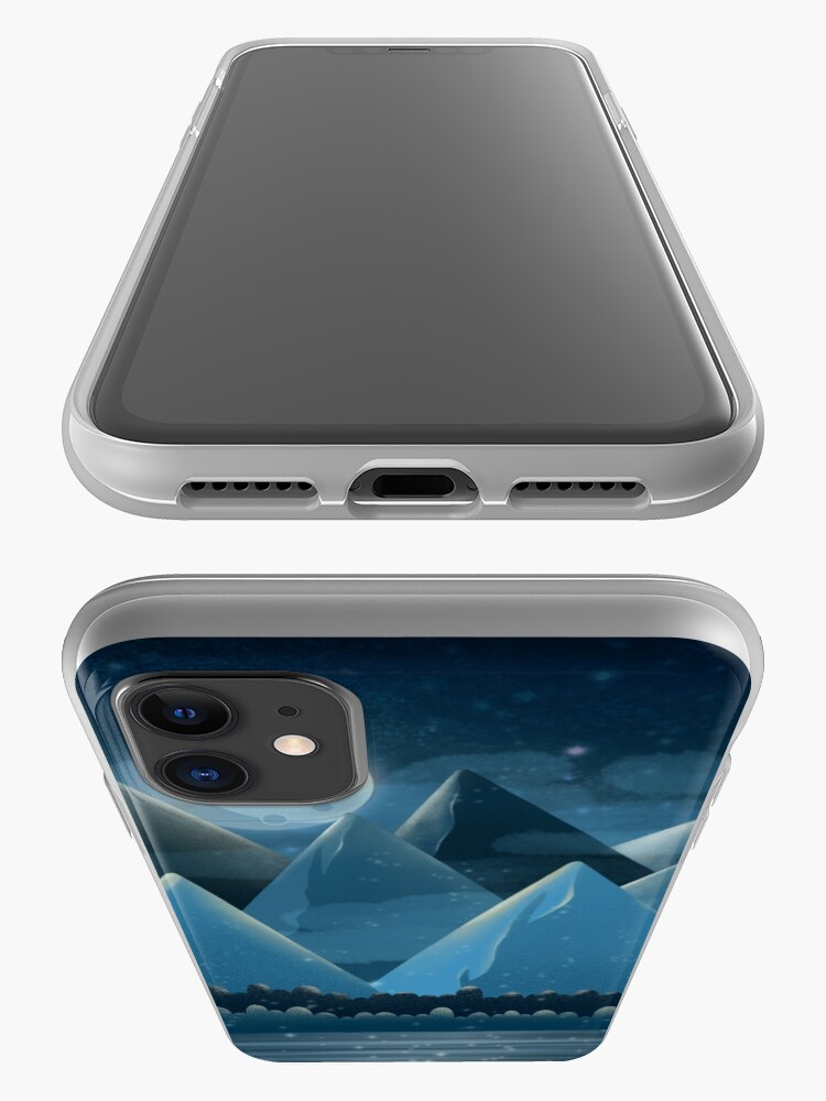 Alternate view of Night landscape iPhone Case & Cover