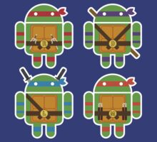 Teenage Mutant Ninja Droids