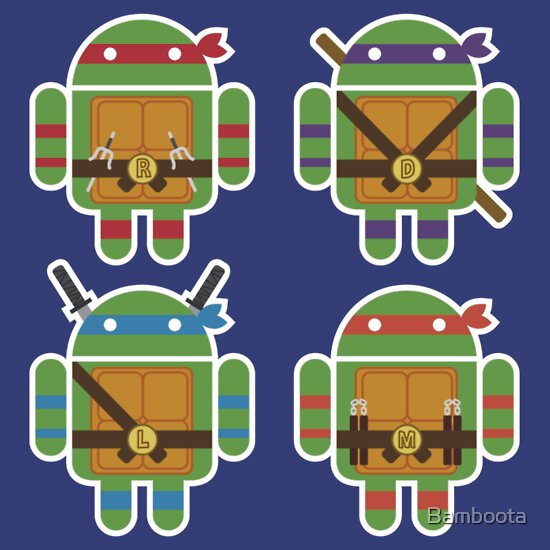TShirtGifter presents: Teenage Mutant Ninja Droids