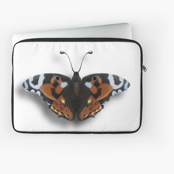 realistic butterfly Laptop Sleeve