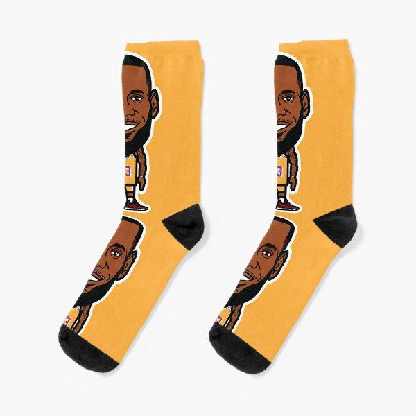 The KING in LA Socks