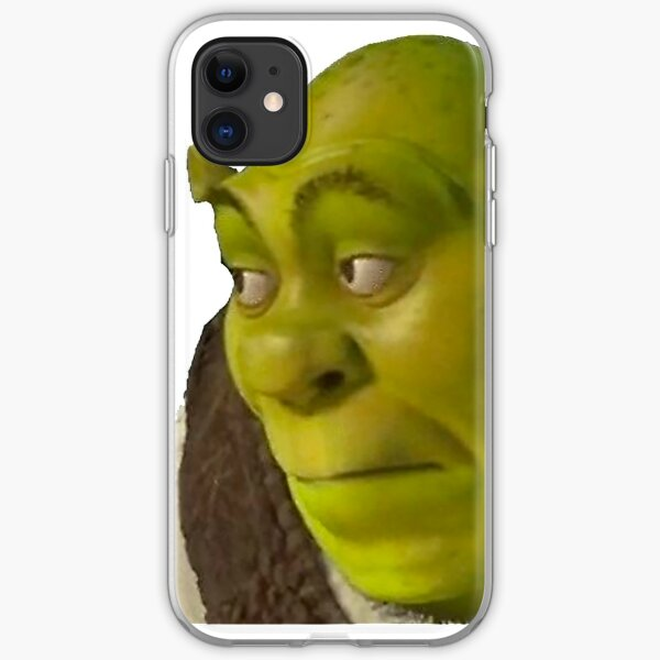 Shrek meme iPhone Soft Case