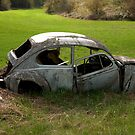 The V W that has seen better days. by Valerie Henry