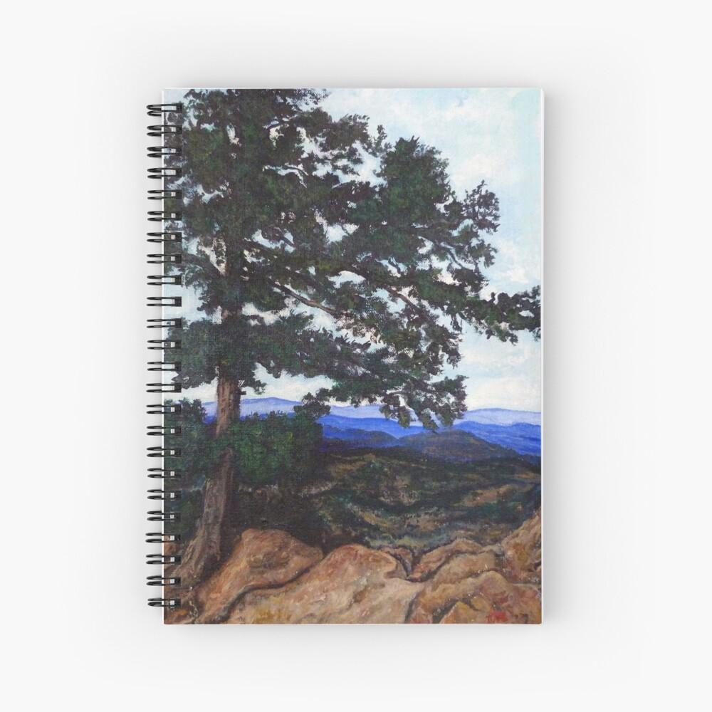 Flagstaff Mountain Tree Spiral Notebook