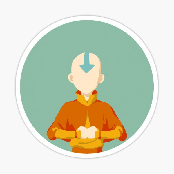 Aang Sticker