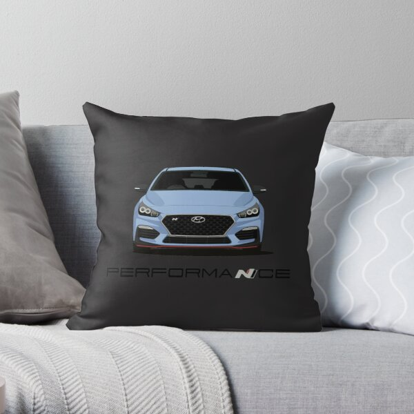 I30N (Blue) Throw Pillow