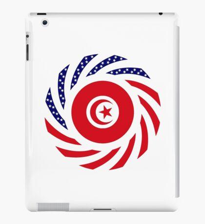 Tunisian American Multinational Patriot Flag Series iPad Case/Skin