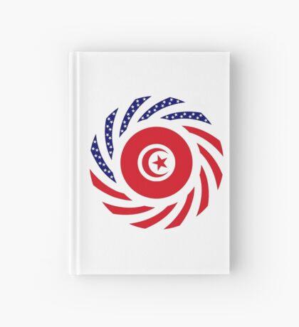 Tunisian American Multinational Patriot Flag Series Hardcover Journal
