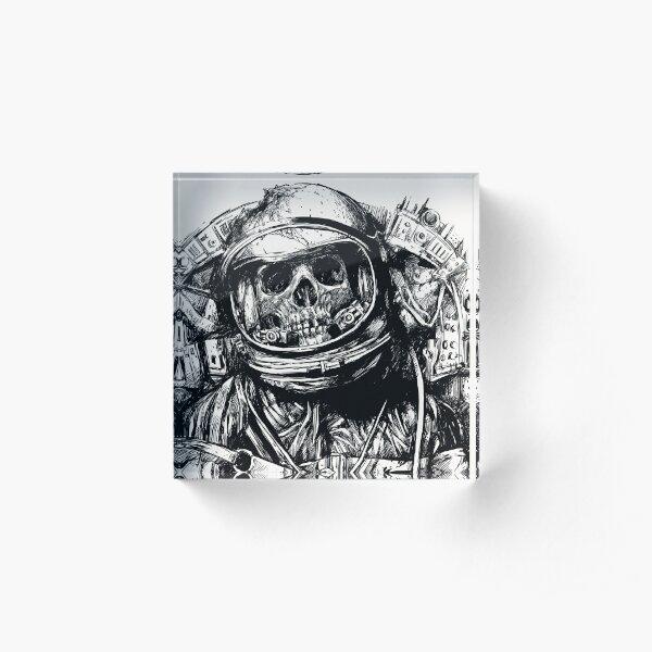 Dead Astronaut Acrylic Block
