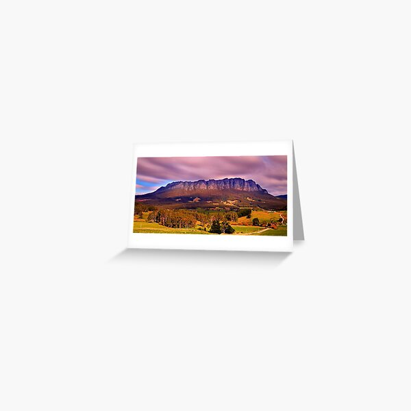 """""""The Mountain"""" Greeting Card"""