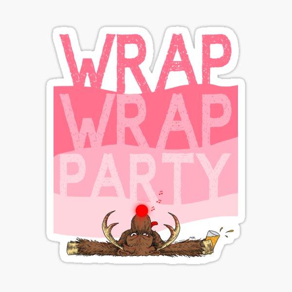 Wrap Wrap Party Rudolph Sticker