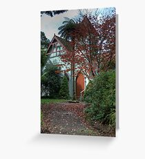St George's Anglican Church, Mt Wilson, NSW, Australia Greeting Card
