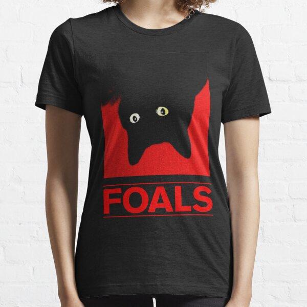 Potros del gato negro Camiseta esencial