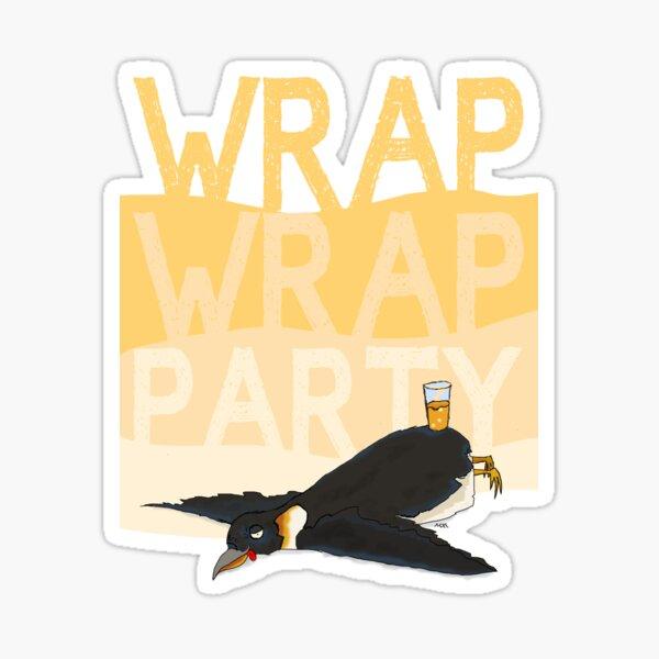 Wrap Wrap Party Penguin Sticker