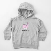 Narwhal, Unicorn of the Sea Toddler Pullover Hoodie