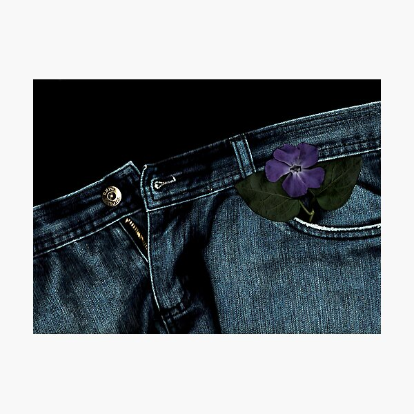 """""""Blue Jeans and Periwinkle"""" Photographic Print"""
