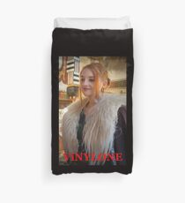 Portrait by Blunder for Vinylone Duvet Cover