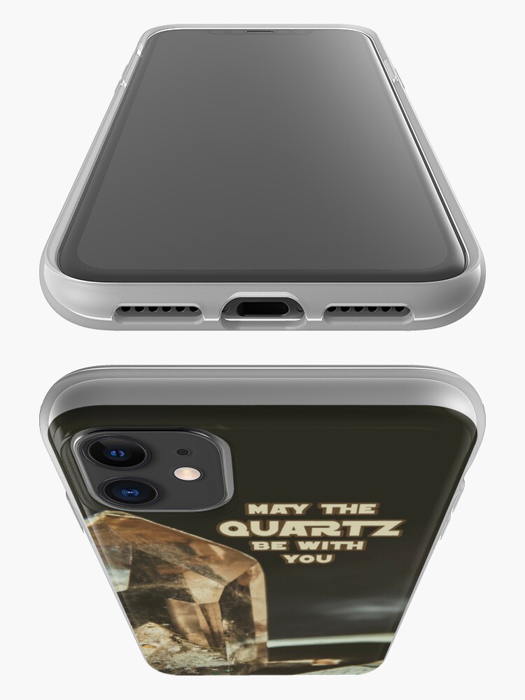 Alternate view of May The Quartz Be With You iPhone Case & Cover