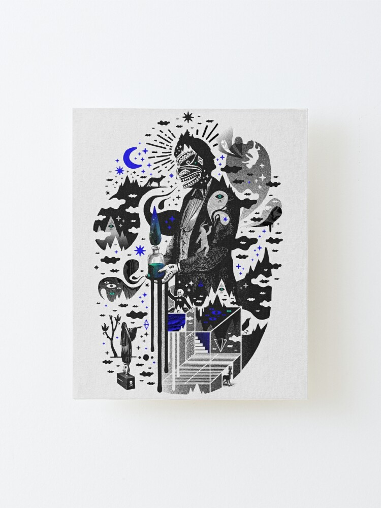 Alternate view of Extraordinary Popular Delusions Mounted Print