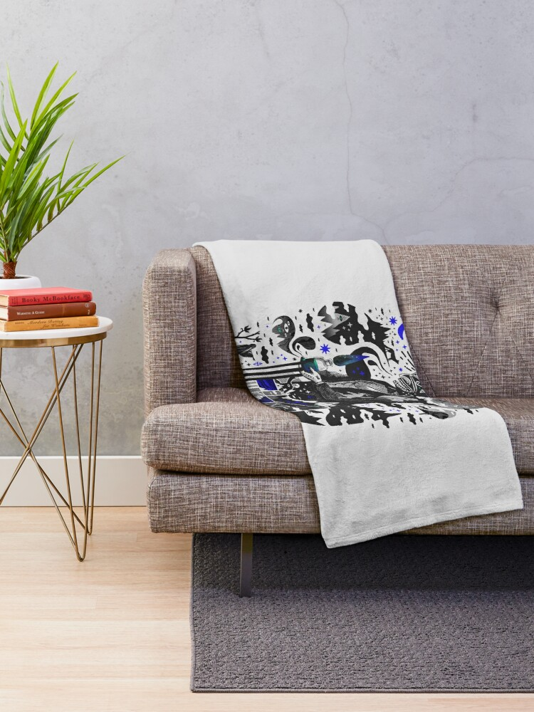 Alternate view of Extraordinary Popular Delusions Throw Blanket