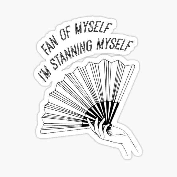 Little Mix - Joan of Arc - Fan of Myself i'm standing myself Sticker